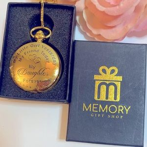 🛍Memory gift shop to daughter pocket watch